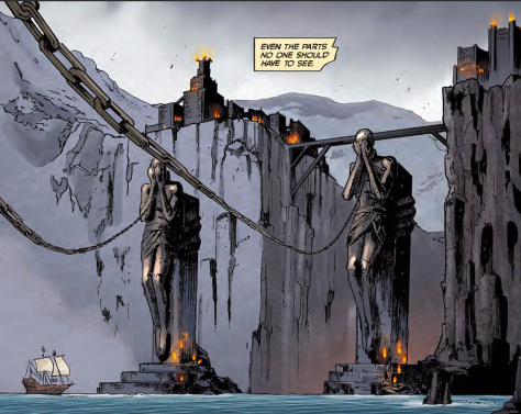From Dragon Age Knights Errant #1 by Fernando Heinz Furukawa & Michael Atiyeh