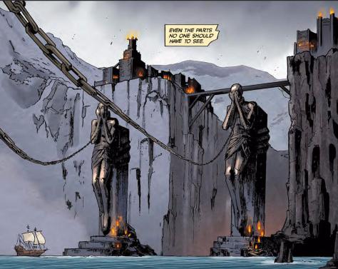 From Dragon Age Knights Errant #1 by Fernando Heinz Furukawa & Michael Atiyeh