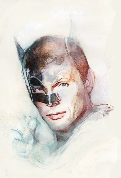 Adam West Bill Sienkiewicz