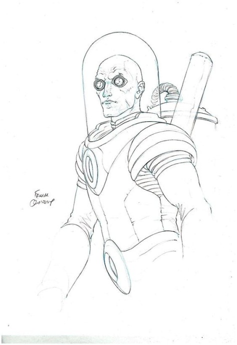 Mister Freeze Frank Quitely