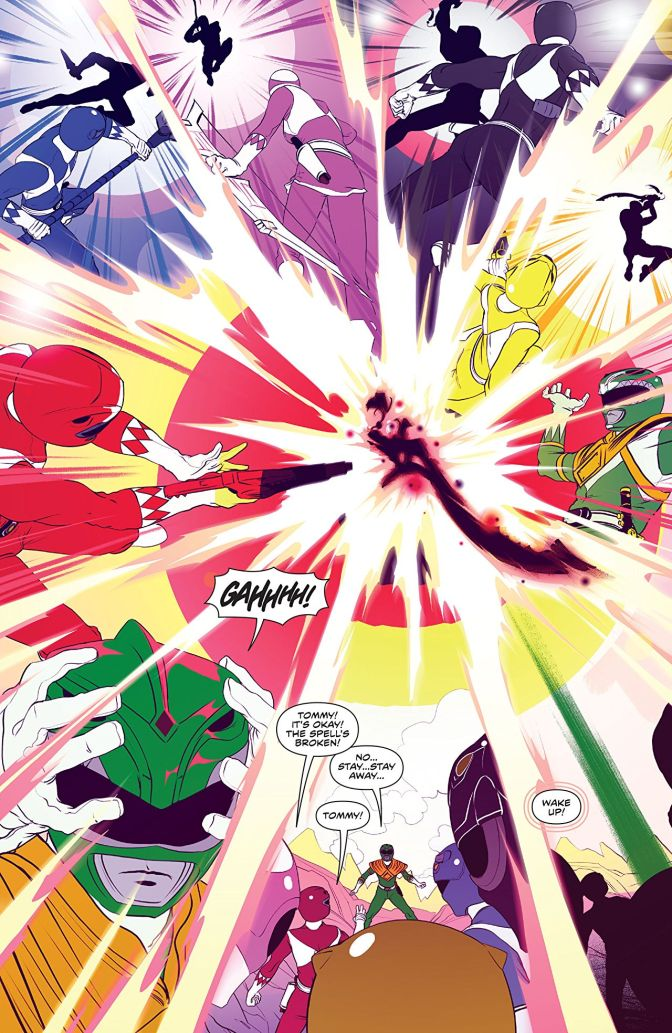 This Week's Finest: Mighty Morphin Power Rangers Annual 2017