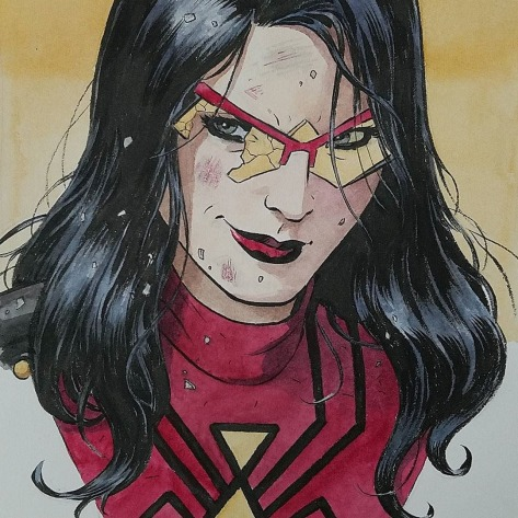 Spider-Woman Paolo Rivera